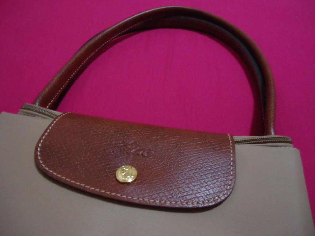 Detalhe - Bolsa Le Pliage Nylon - Longchamp